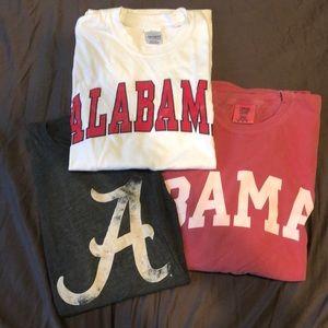 Alabama T-Shirts/Long Sleeves